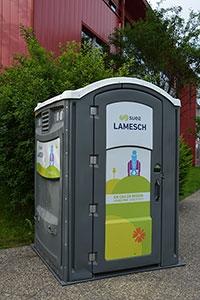 Location toilette mobile et urinoir au Luxembourg |LAMESCH